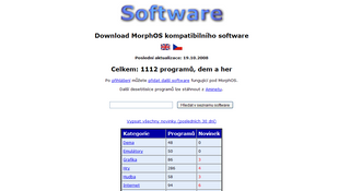 MorphOS Software